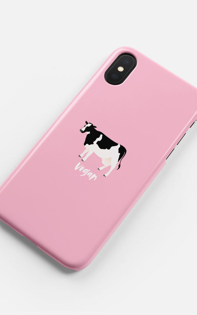 Vegan Cow Phone Case by Coconut Lane