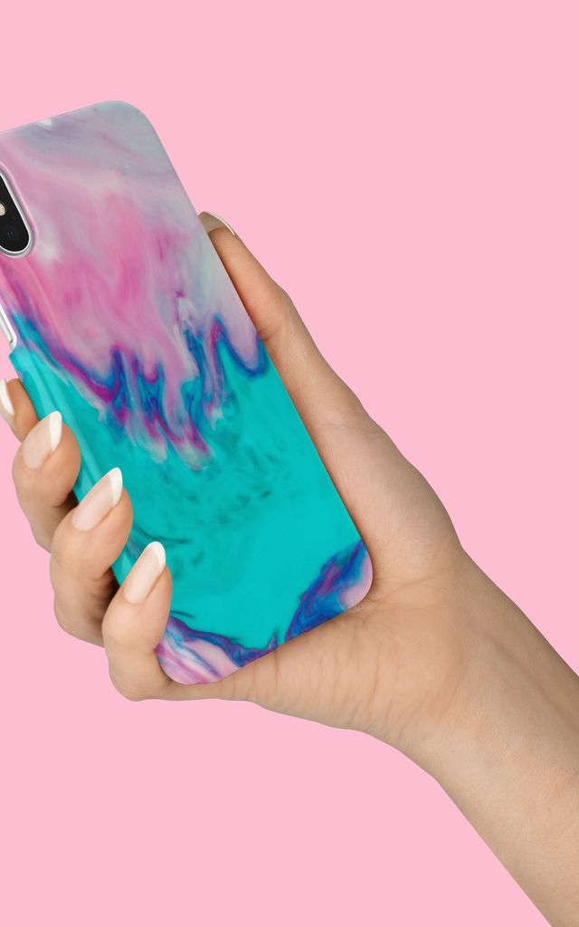 Aqua Splash Phone Case by Coconut Lane