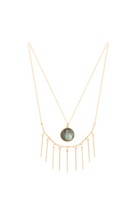 Thelma Necklace in Gold by Amadoria