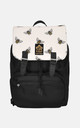 Bumble Bee panel laptop backpack by The Left Bank