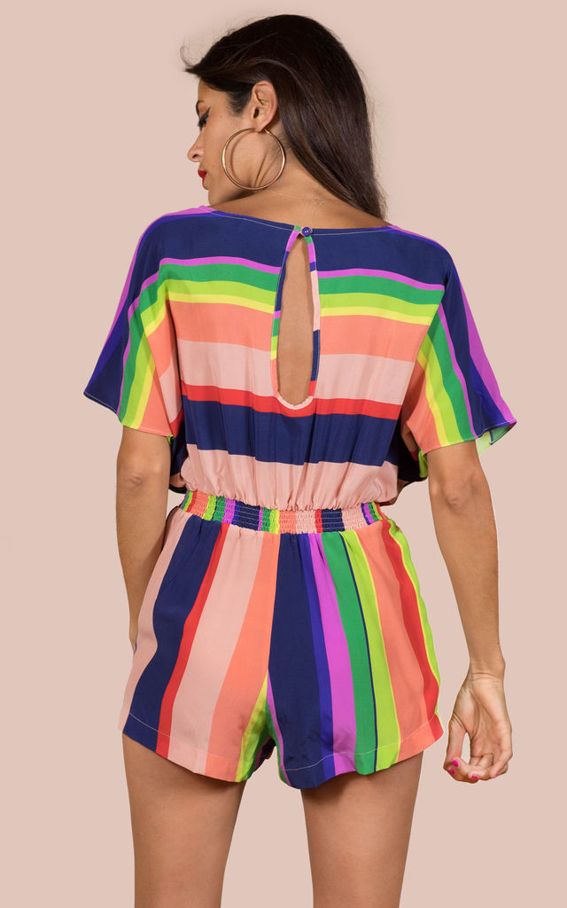'Exclusive' Tagomago Playsuit Stripe image