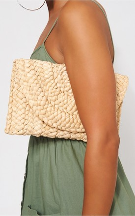 Mimi Straw Clutch Bag by The Fashion Bible Product photo