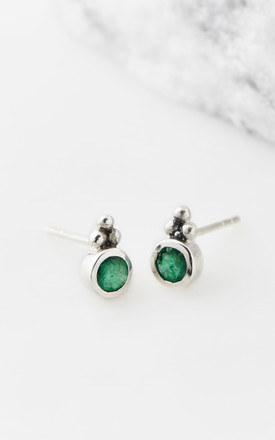 Stud Earrings In Green by Charlotte's Web Product photo