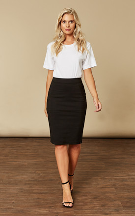 Black Pencil Skirt by VM Product photo