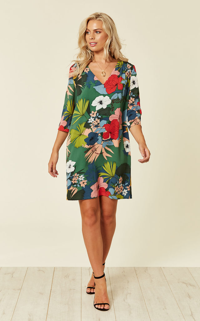 aff4482139dc Miss Mollie Floral Shift Dress by Traffic People