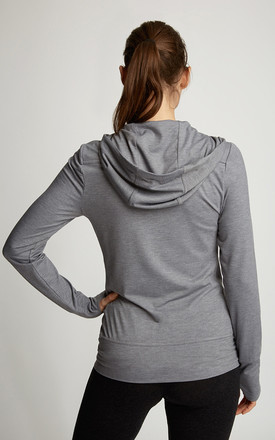Mid Grey Marl On-the-Go Jacket by Calmia