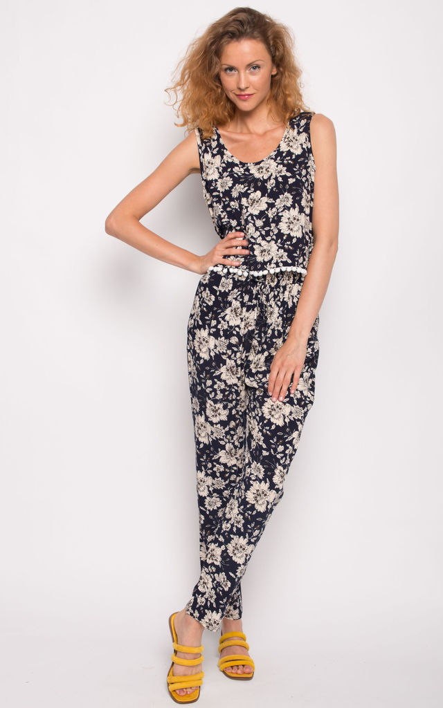 Floral print cotton tassel suits co-ords by CY Boutique