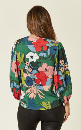 Vice Floral Long Sleeve Shirt in Multi by Traffic People