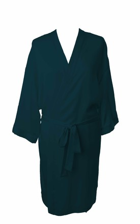 Bridesmaid / Bride / Hen Dressing Gown - Teal by Matchimony
