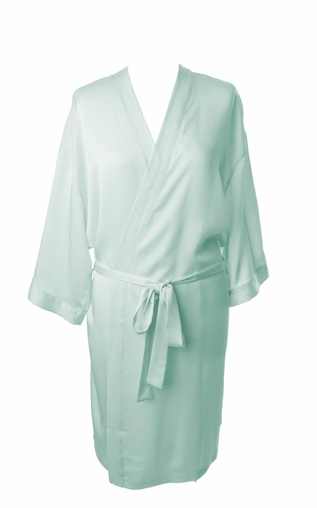 c3cfcd084f ... Bridesmaid   Bride   Hen Dressing Gown - Aqua by Matchimony ...