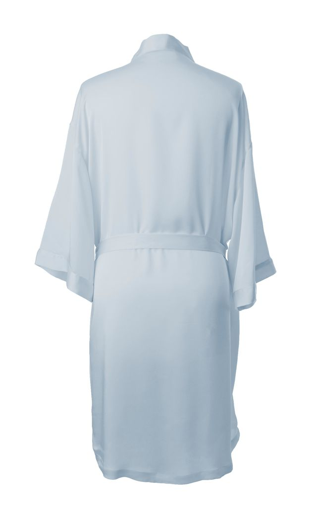 Bridesmaid / Bride / Hen Dressing Gown - Light Blue by Matchimony