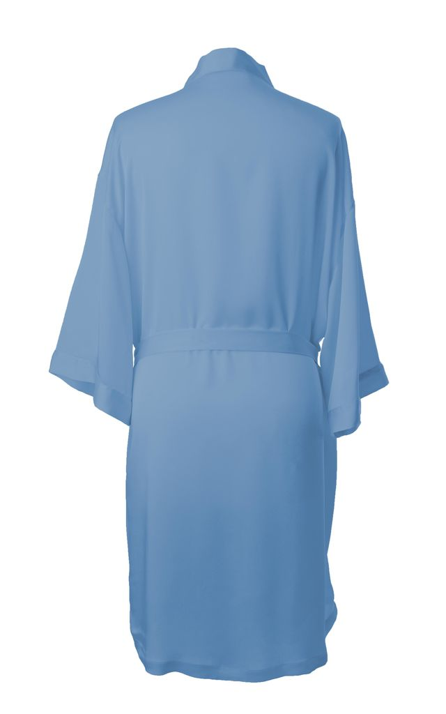 Bridesmaid / Bride / Hen Dressing Gown - Powder Blue by Matchimony