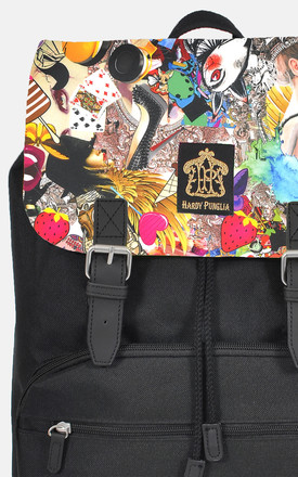 Pop art Panel Backpack by The Left Bank