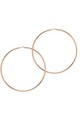 La Chica Latina Large Hoop Earrings, 63mm, Rose Gold by THE HOOP STATION