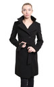 Bianca Black Keep It Simple Coat by De La Creme Fashions