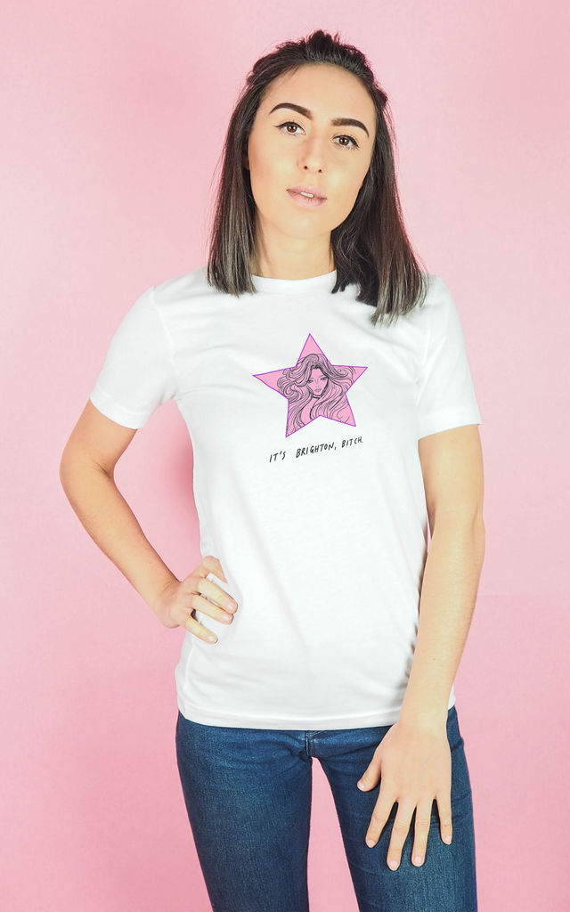 It's Brighton Bitch Britney T Shirt (unisex) by Rock On Ruby
