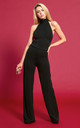 The Aurora Jumpsuit in Black by Gorgeous Couture