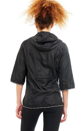 Elements Packable Sports Jacket in Black by Boudavida