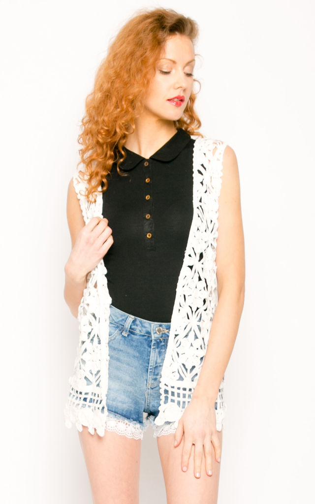 Floral pattern cardigan by CY Boutique