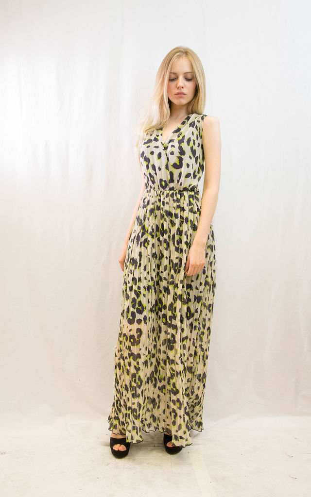 13c6783561 ... Leopard print Wrap Maxi Dress by CY Boutique ...