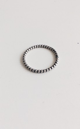 Sterling Silver Circle Ring by Soleil Store