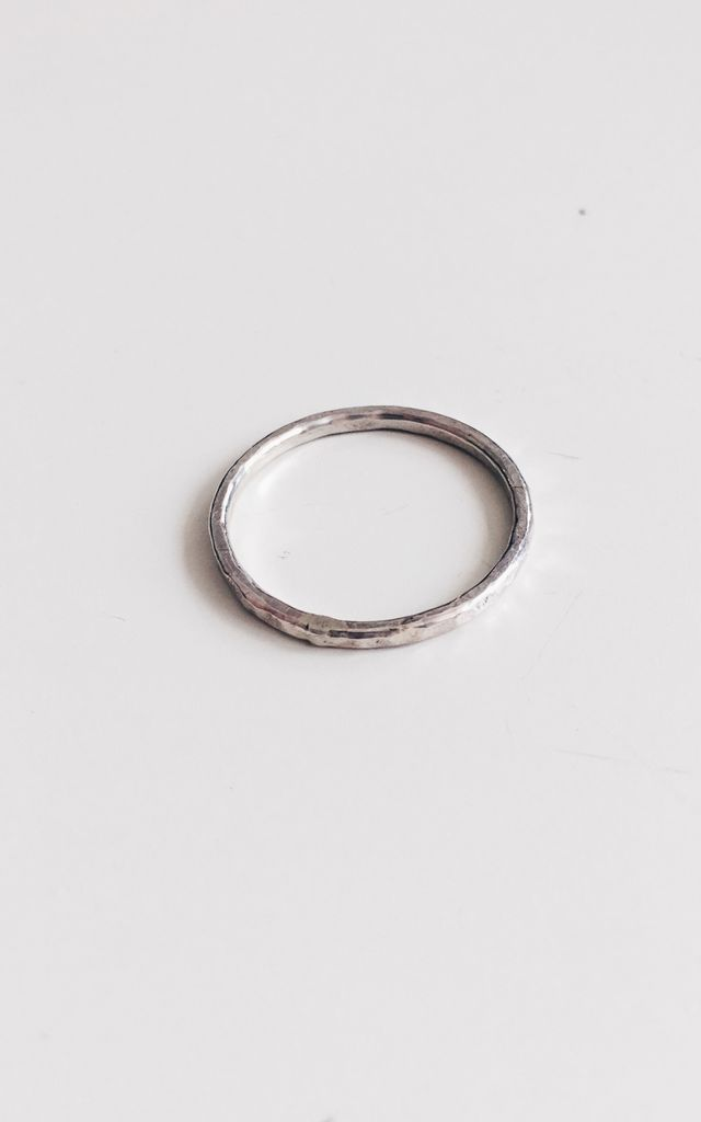 Sterling Silver Single Ring by Soleil Store