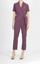 NATE PURPLE BUTTONED JUMPSUITS by Jovonna London