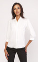 Classic shirt in white by Lanti