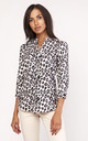 Lightweight shirt in leopard print by Lanti