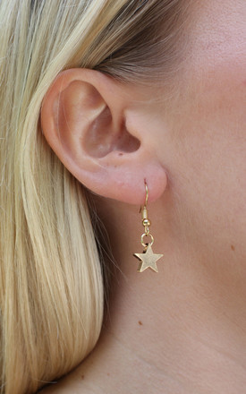 Gold Star Earring by PYT Jewellery