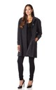 Lisa Grey Wool & Cashmere Swing Coat by De La Creme Fashions