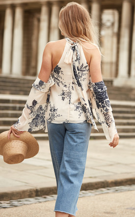 Wild Flower Top by The Jetset Diaries