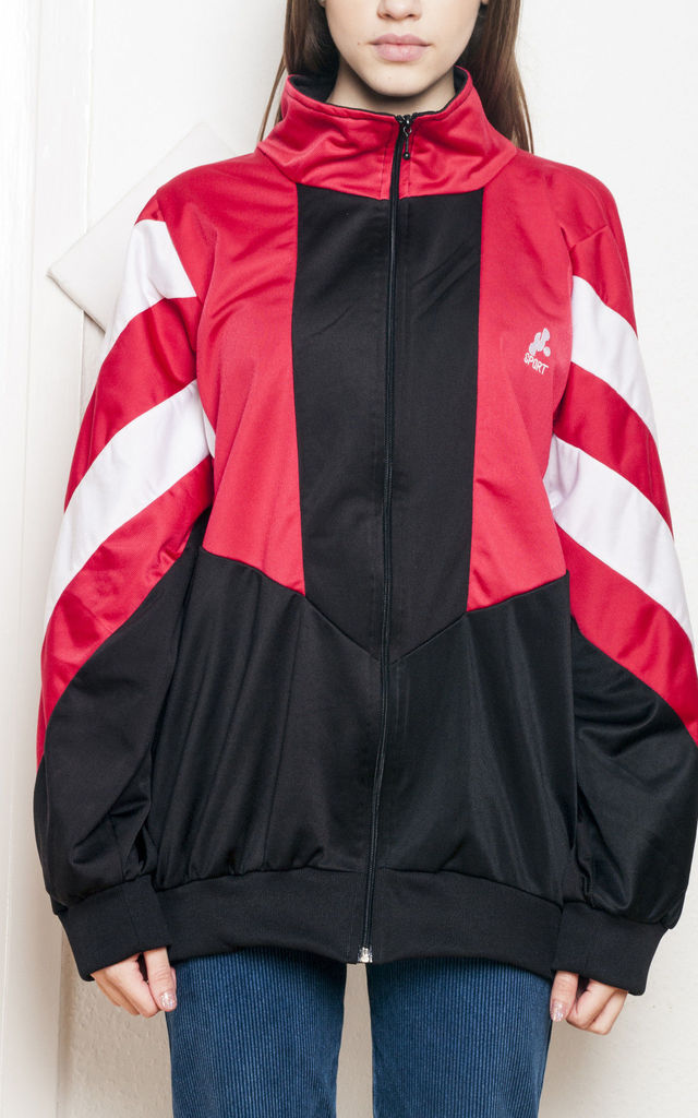 Track jacket - 90s vintage sports top by Pop Sick Vintage