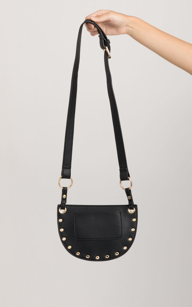 Savannah Faux Leather Cross Body Bag by KoKo Couture