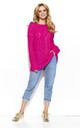 Fuchsia Oversized Knit Jumper by Makadamia
