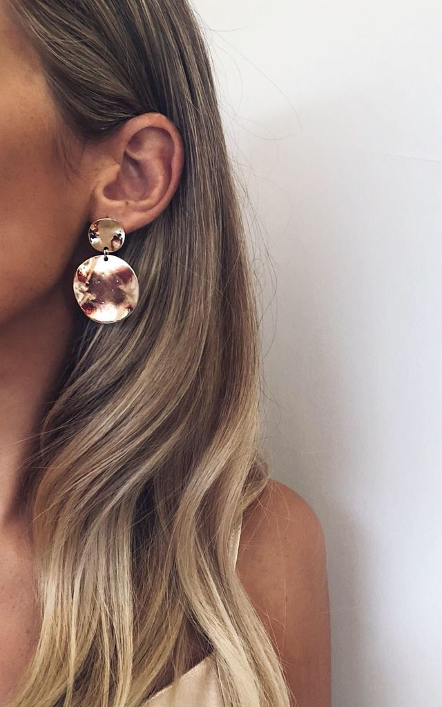 Vivi Earrings - Gold by Pretty Lavish