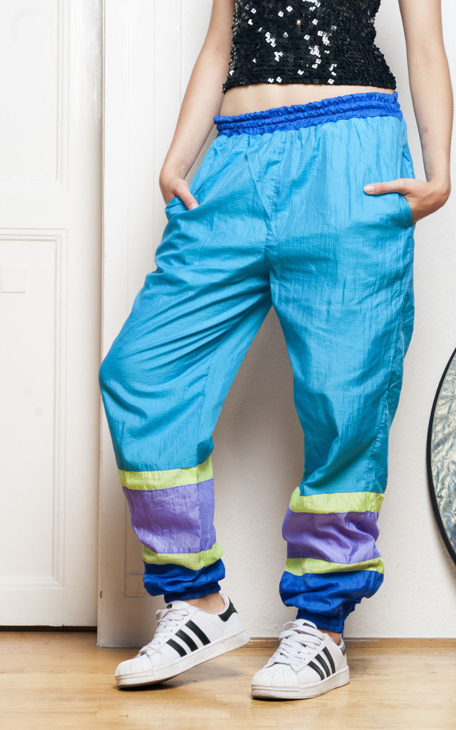 90s vintage track trousers by Pop Sick Vintage