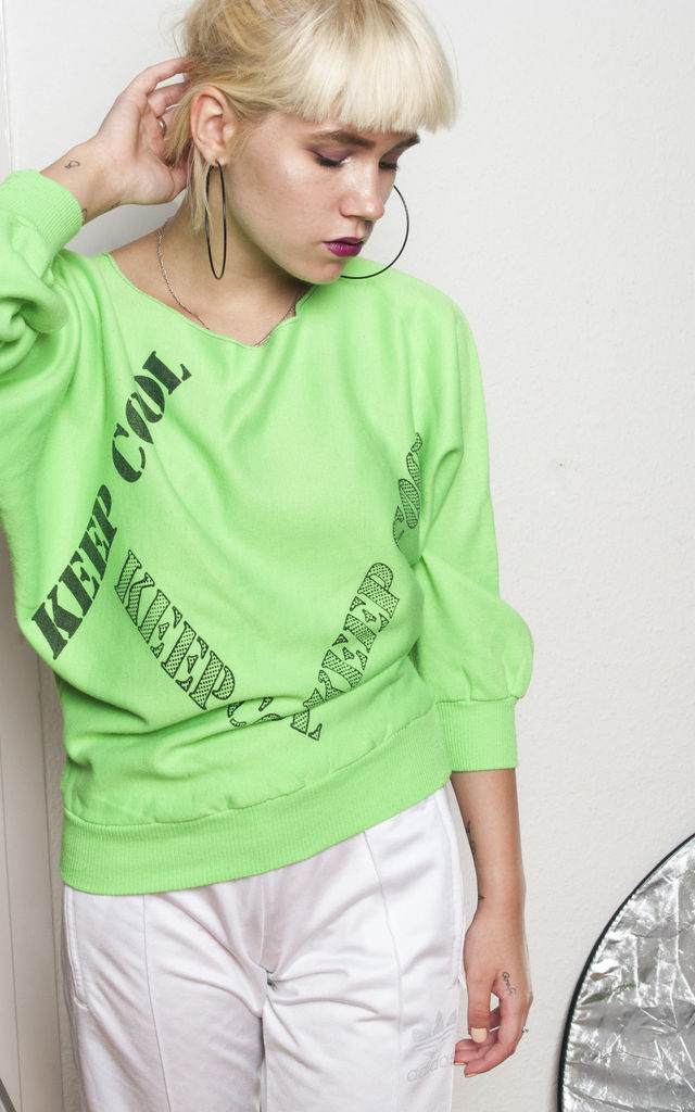 90s vintage Keep Cool jumper by Pop Sick Vintage