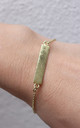 Indu Bar Bracelet - Gold by So Just Shop