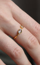 Pooja Open Ring - Gold by So Just Shop