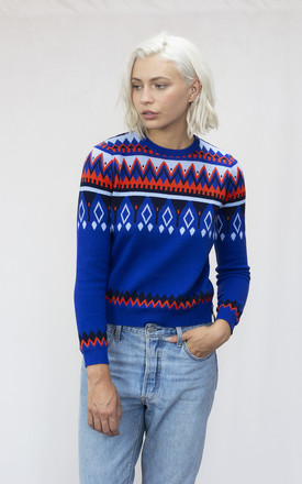 The Abstract Fairisle Jumper by IGGY & BURT Product photo