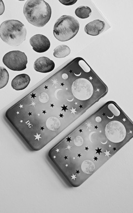 Mystic Mix Up phone case by Rianna Phillips