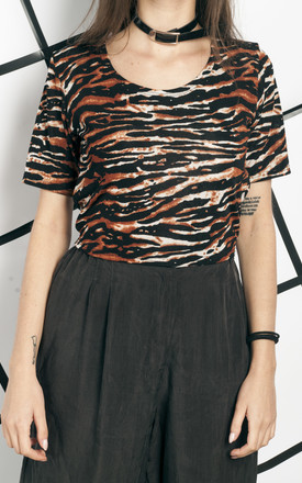 90s vintage tiger crop top by Pop Sick Vintage