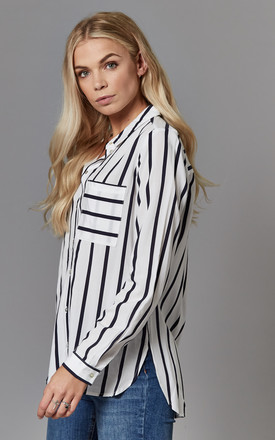 Long sleeve Stripe Pocket Shirt by ONLY
