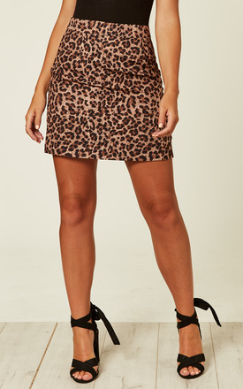 Leopard Print Skirt by UNIQUE21 Product photo