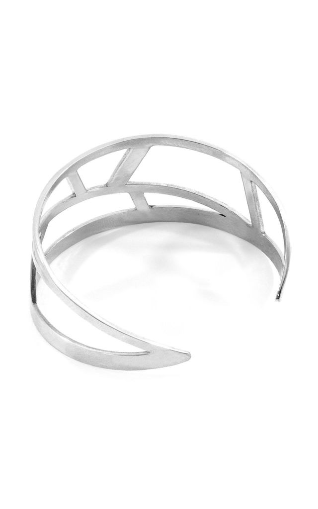 ARUGAM MAXI SURF SILVER BANGLE by ANCHOR & CREW