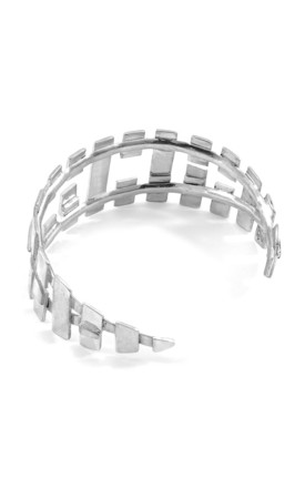 OAHU MAXI SURF SILVER BANGLE by ANCHOR & CREW