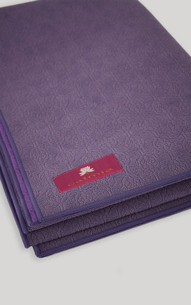 Purple Eco-Friendly Double Sided Travel Mat by Calmia
