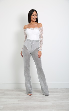 Kiana Metallic Trousers by New Age Rebel