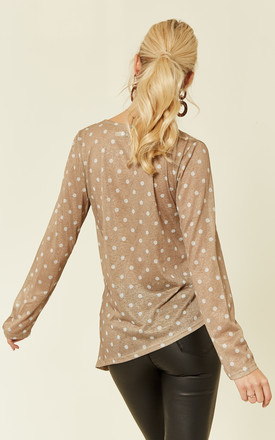 Wrap Around Polka Dot Blouse by UNIQUE21